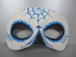 Day of the Dead blue mask by maskedzone