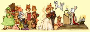 The wedding by samycat
