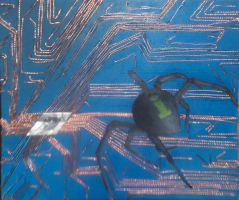 Circuitry Spider by ReaperMonkey