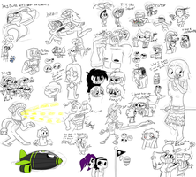 NTG - Large Doodle page by ITS-ALL-NTG