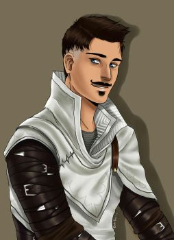 Dorian Pavus  - Dragon Age Inquisition by BlueAquarelle