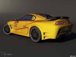 Toyota Supra Tuned 2 by cipriany