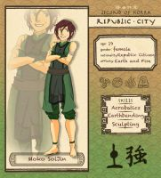 Republic City app: Moko Soi Jin by Epic-ErikaPhobia
