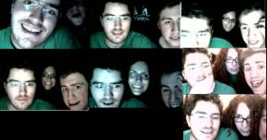 Faces from the live stream by LAngel2