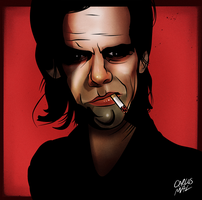 Nick Cave by thecarlosmal