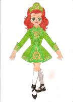 Traditional Irish Dancer by animequeen20012003