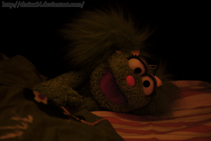 A Muppet. NO. A Bag. by ChrixX14