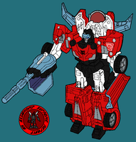 Cyb Sideswipe - R Mode by AsswhompSupreme