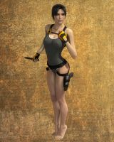 Lara swimsuit by Lastonedown
