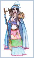 Halloween Witch by Lilaspirit