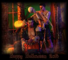 Happy Halloween 2014 by xTh13teeNx