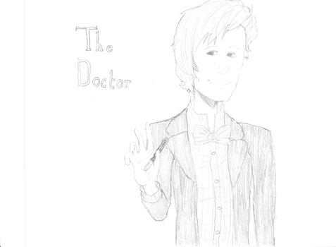 The 11th Doctor, from BBC's Doctor Who by paintedpandas128