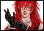 Kuroshitsuji - Grell Sutcliff by swift-winged-soul
