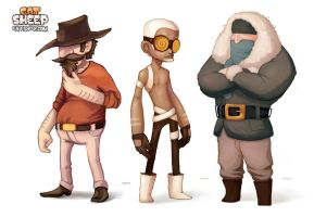 Eat Sheep: Wranglers by Tvonn9