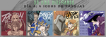 Dia 6 | League of Legends Icons Pairings by panda-monochromatyc