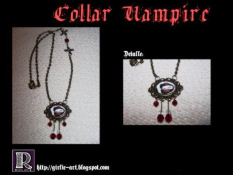 Vampire Necklace by Girlie-Art