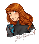 Kim Possible doodle by kamillyanna