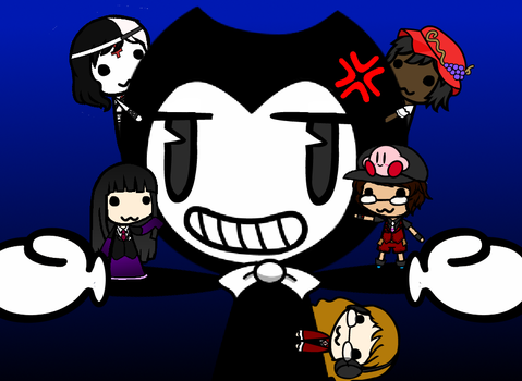 Bendy and the Trashies by AlyssaWalfas40