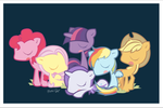Little Little ponies by littlepainkiller