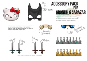 Papierkumpel Accessory Pack 1 by anouki-morgenstern