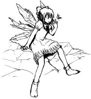 The Strongest Fairy by leafprojector