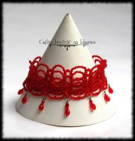 Moulin Rouge Choker by Cayca