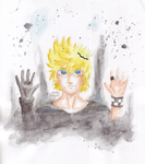 Roxas - Crown by MakiMasho