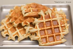 Matcha coconut waffles 1 by patchow