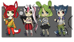 ribbon-Doggy collab - set price :: OPEN by Doggy-Adopts