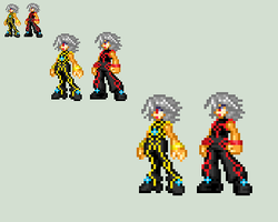 Katana and Ezekiel Single Sprites by Dictator-Heartless