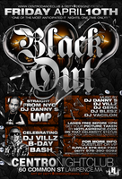 Black Out Flyer by DeityDesignz