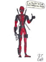Deadpool awesome Fanart by JefimusPrime