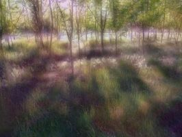 Enchanted Forest BG 03 by mimustock