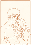 NaruSaku - This Chest Cover (Blank) by Kirabook