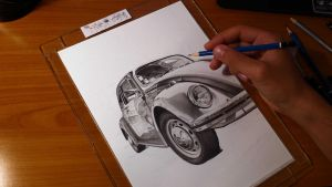 VW beetle WIP by speedboy201