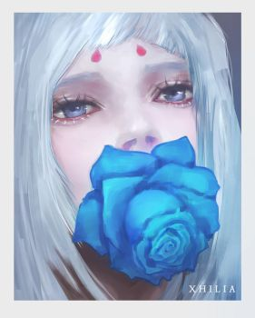 Rose is Blue by Xhilia7