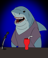 Jaws as an American Idol Judge by BennytheBeast
