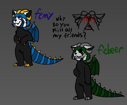 Femy/febeer (contest entry) by beenut1000