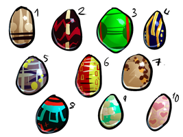 Egg Adopts YOU CHOOSE  (ALL BOUGHT) by xSpickeyx