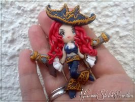 Commission Pendant Miss fortune by DarkettinaMarienne