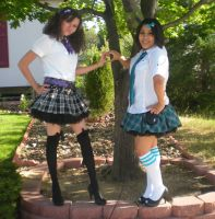 Because School Girl Outfits--2 by MomokoBee