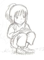 Chihiro - WIP by little-ampharos