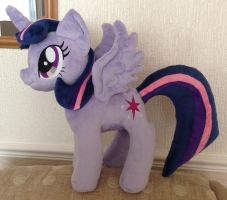 Princess Twilight Sparkle by PlushieScraleos