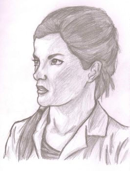 Molly Hooper Sketch by AnimePortraits