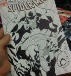 Venom breaks poor Spidey by RyanOttley