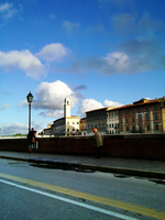 Pisa From a Car by Dreefire