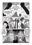 Gandalf vs Dumbledore 1-4 by silvarablack