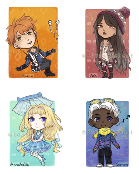 Adopts Batch #1 [OPEN] by taptothebeat