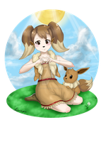 My Little Eevee by aku-no-hana2