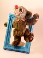 Bungle Circus Bear - side view by mellisea